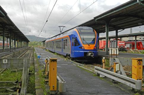 Электричка Гёттинген вокзал Кассель-Главный