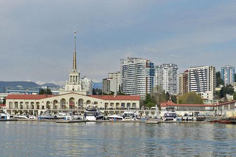 Meeresbahnhof Sotschi Russland