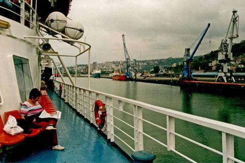 Trabzon Fährhafen Erke Türkei