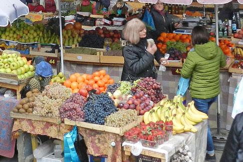 Markt Russland Obst