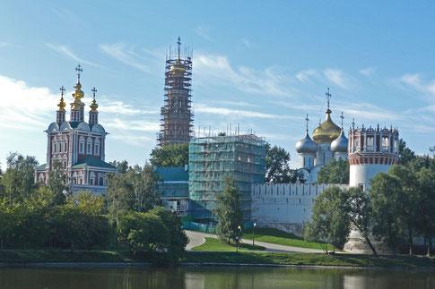 Neujungfrauen-Kloster Nowodewitschi-Kloster Moskau
