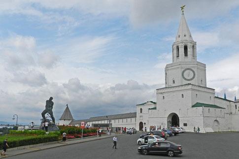 Kreml Kasan Erlösterturm