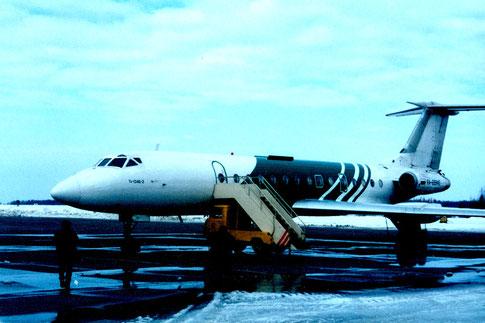 Tupolew 134 Moskau 2003