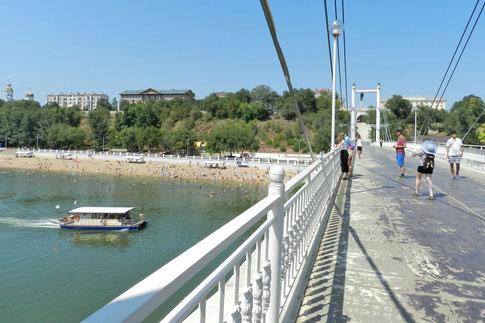 Orenburg Brücke Ural