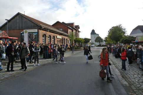 Швармштедт вокзал