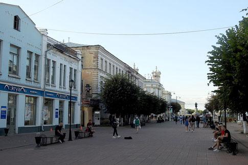 Twer Russland Fußgängerzone