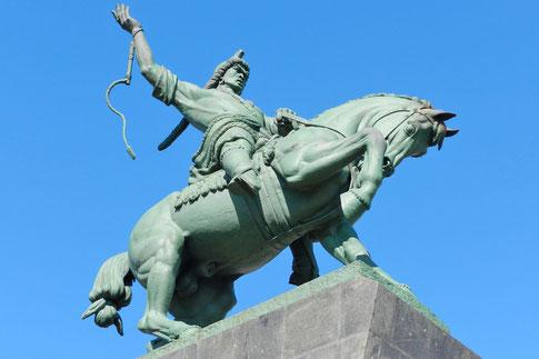 Monument Salawat Julajew Ufa Baschkirien