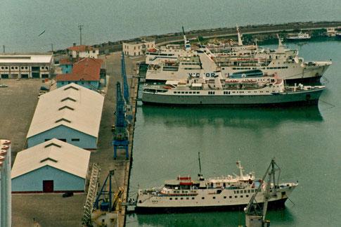 Fährhafen Trabzon Fähren Türkei