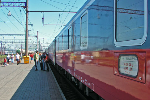 Zug Moskau Berlin Moskau-Express