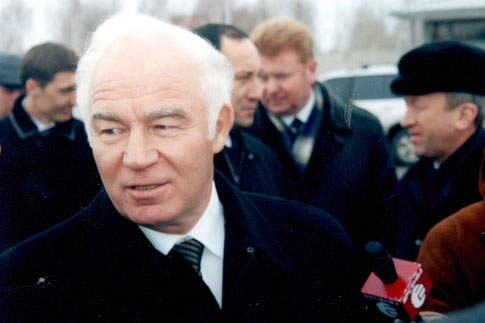 Bahnchef Gennai Fadejew - Kein einfacher Interview-Partner