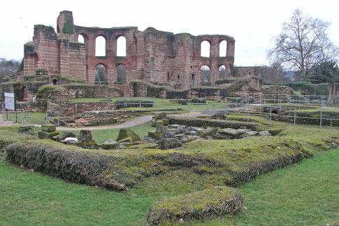 Императорские купальни. Трир, римские руины.