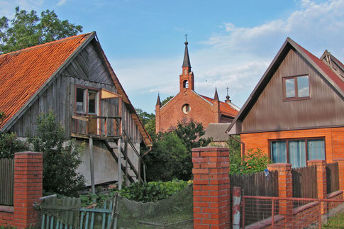 Rybatschi Rossitten Kirche