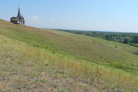 Roter Hügel Krasnaja Gorka Saraktasch Orenburg