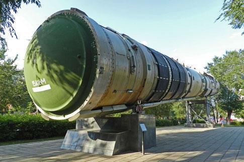 Atomrakete SS-18 Orenburg