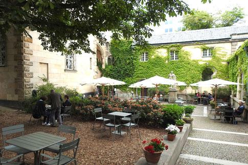 Кайе в Либиг-Хаусе во Франкфурте-на-Майне