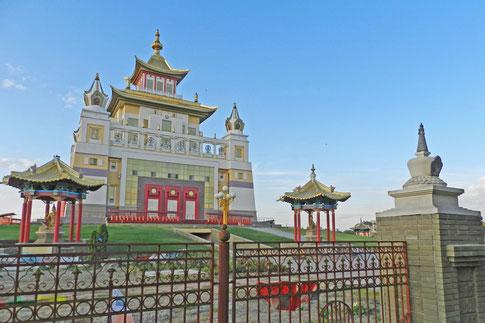Elista Churul buddhistischer Tempel Goldene Heimstätte des Buddha Shakyamuni