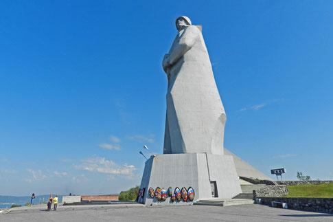 Aljoscha Murmansk Denkmal Verteidiger der sowjetischen Arktis