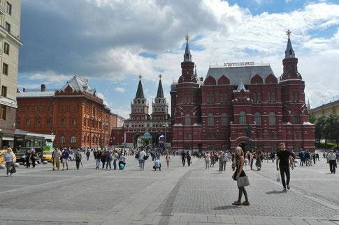 Moskau Manege-Platz