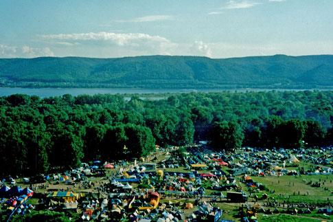 Gruschin-Festival an der Wolga