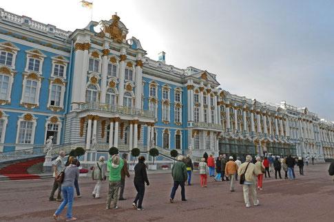 Großer Katharinenpalast Zarskoje Selo St. Petersburg