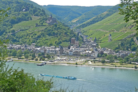 Бахарах Рейн Рейнская долина