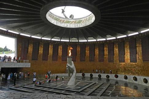 Wolgograd Ewige Flamme Pantheon Saal des militärischen Ruhms