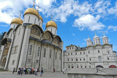 Mariä-Entschlafenskathedrale Moskau Kreml