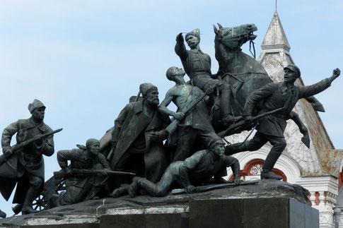 Tschapajew-Denkmal in Samara