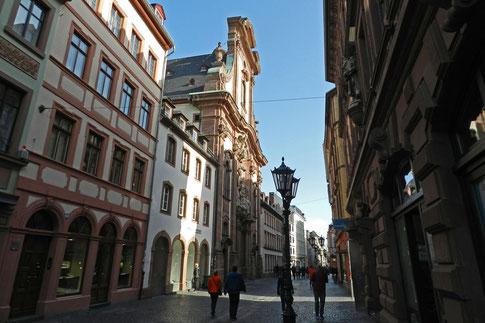 Улица Аугустинерштрассе Майнц