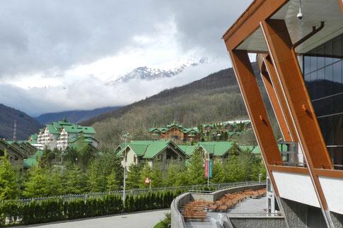 Gasprom Wintersportzentrum Krasnaja Poljana Sotschi