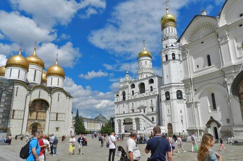 Moskauer Kreml Kathedralenplatz