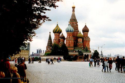 Basiliuskathedrale Moskau 1990