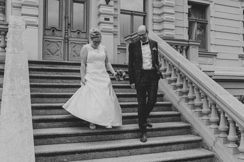 Brautpaar Standesamt Eberswalde Hochzeitsfotograf Berlin