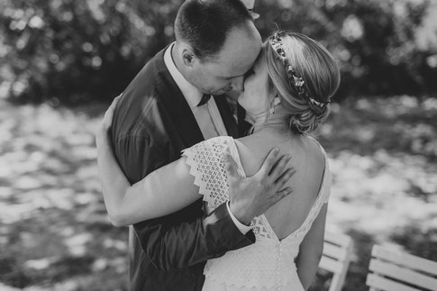 Brautpaar Landgut Stober Freie Trauung Hochzeit Hochzeitsfotograf Berlin