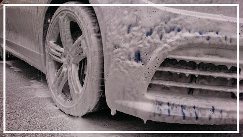 Lavage auto extérieur à domicile