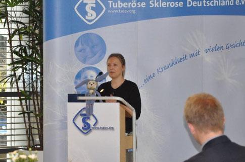 Preisträgerin Dr. Sarah Leutelt. Foto: Inga Lepka