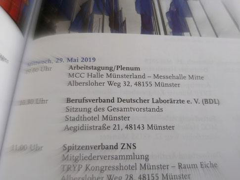 BDL-Gesamtvorstand und DVÄD beraten in Münster