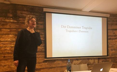 Trude Teige spricht über die Tragödie Demmins