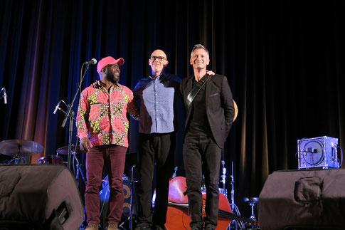 Philippe Parant Trio. Photographe inconnu. Soirée Jazz Club 360, samedi 7 novembre 2020, salle culturelle de Cénac