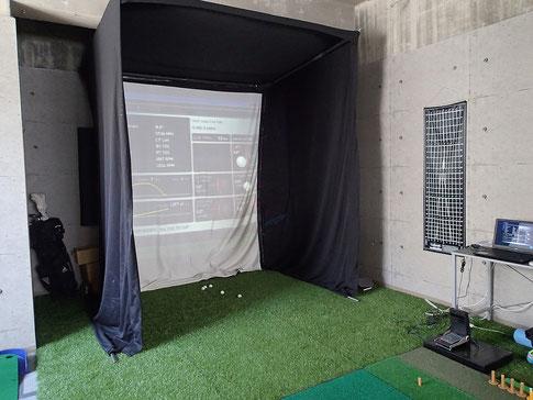 ゴルフクラフト沖縄試打スタジオ画像