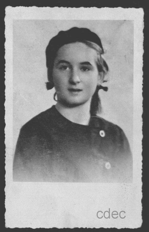 Foto: Ivana Haler. Fonte: CDEC di Milano, fondo Israele Kalk, Busta 5, Fascicolo 65