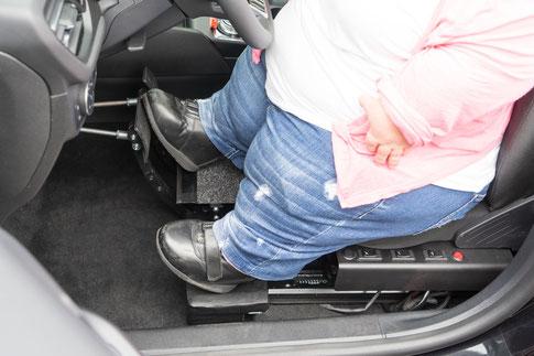 Pedalverlängerung, behindertengerechte Fahrzeugumbauten, Sodermanns