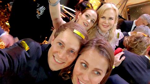 Nicole Kidman, Emilia Schüle, Oliver Kienle, Verena Monssen, goldene Kamera
