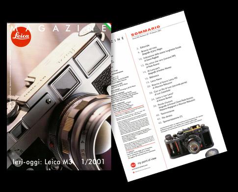 Leica Magazine - Anno VIII - Numero 29 - Primavera 2001