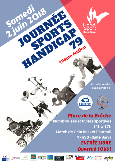 Journée Sports Handicap 79 - Handisport 79