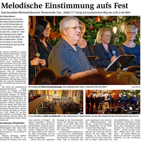 Bremervörder Zeitung, 24.12.2019