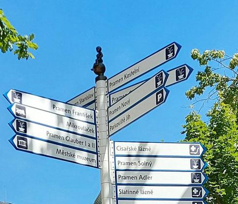 Wahrzeichen von Franzensbad - Frantischek