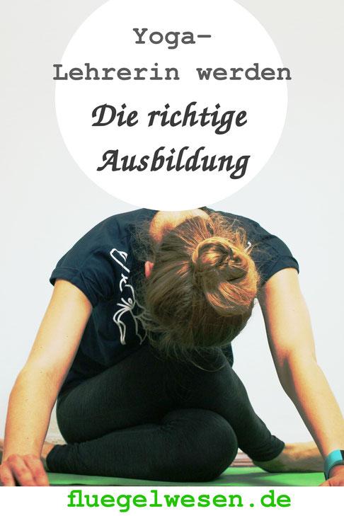 Yoga-Lehrer werden - die richtige Ausbildung - fluegelwesen.de