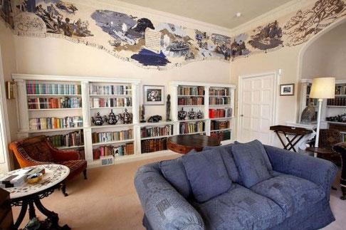 Домашня бібліотека Агати Крісті