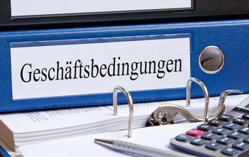 Wohnbiologie - Allgemeine Geschäftsbedingungen